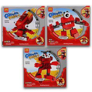 #juallego #lego #tokopedia #tokomainan #tokoonline   indosoccerstarz.com - LEGO MIxels Seri Infernites : Termasuk minifigure LEGO : Vulk, Flain & Zorch - 3 Karakternya ( Vulk, Flain & Zorch ) bisa digabungkan menjadi 1 karakter baru  - Di lengkapi Buku Panduan Perakitan yang detail & mudah di mengerti - Bahan berkualitas super, rapi dan halus - Ready Stock - Merek LELE - Merupakan mainan edukasi untuk meningkatkan daya kreativitas dan imajinasi