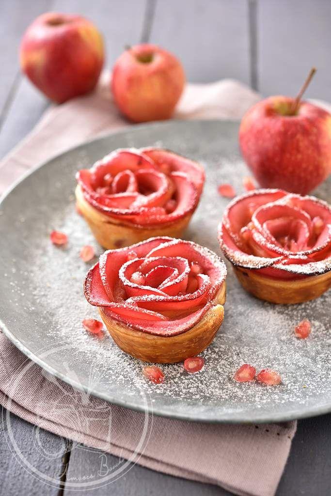 Pastelitos de manzanas rosadas