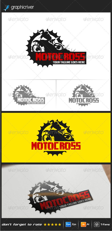 Motocross Logo Templates — Vector EPS #adventur #motocross logo • Available here → https://graphicriver.net/item/motocross-logo-templates/8550857?ref=pxcr