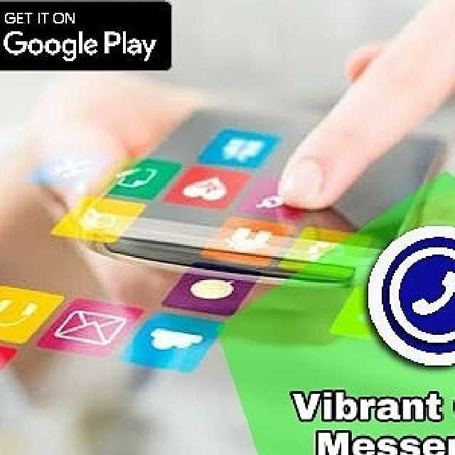 World's Fastest Messenger App *Vibrant chat Messenger* : https://play.google.com/store/apps/details?id=com.wVibrantchat3 ------------------------------- *Best future for Vibrant chat Messenger* • it is totally free app • Add 50,000 Members in One Group. • Secret Chat future, chat with your friends • Many Much Best emoji and emotional stickers, • share with your friends unlimited file, folder, images, text messages, Audio, Video, etc.. • Fastest Messenger app • 100,00,000 + Daily Users • 246…