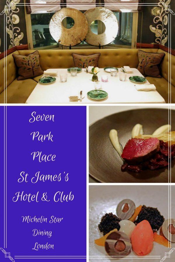 Seven Park Place, Michelin Restaurant London Review - Fine Dining at William Drabble's restaurant, Seven Park Place
