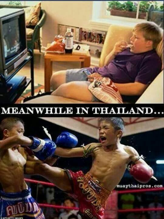 Meanwhile in Thailand....