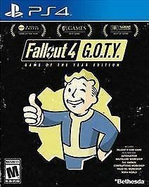 Fallout 4: Game of the Year Edition (Sony PlayStation 4 2017)