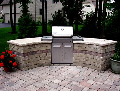 1000 Ideas About Outdoor Grill Area On Pinterest Grill