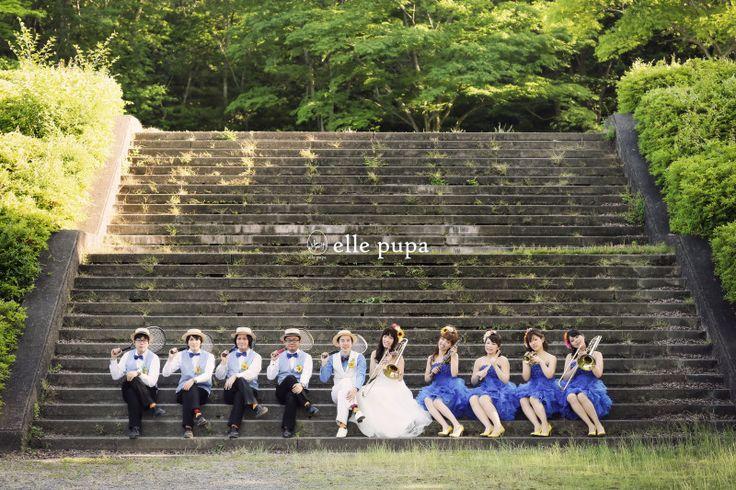 グルームズマン&ブライズメイドと前撮り1* |*ウェディングフォト elle pupa blog*|Ameba (アメーバ)