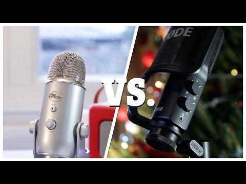 RØDE NT-USB vs. Blue Yeti | Epic Youtube Mic Battle 2015 - YouTube