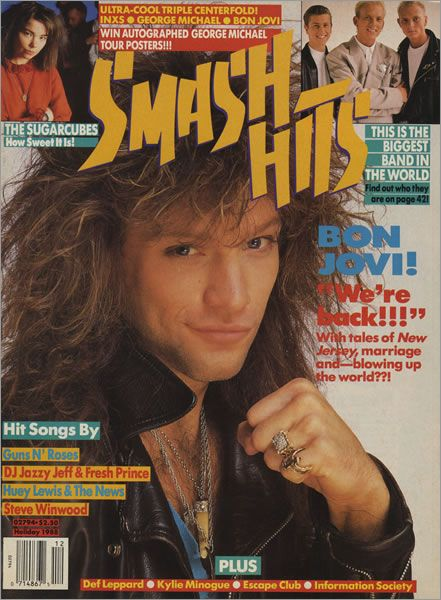 198 best images about bon jovi magazine and album covers for Songs from 1988 uk