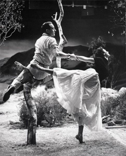 Gene Kelly and Cyd Charisse in Brigadoon (1954)