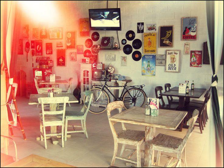 Warung Kopi Cafe Coffee Shop Bali Balangan Indonesia