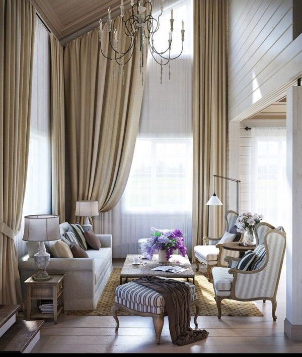 The second apartment takes a more rustic approach but with the same elegance. A beige, natural color theme gives the apartment an earthy feel without removing any of the home's creature comforts.