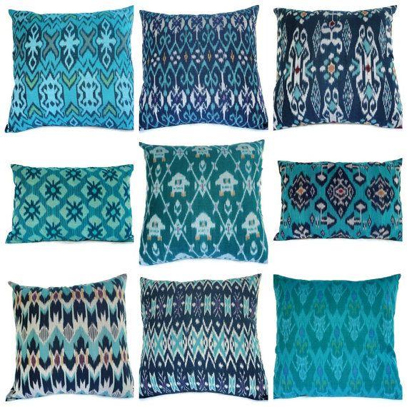 ikat cushions from Bali
