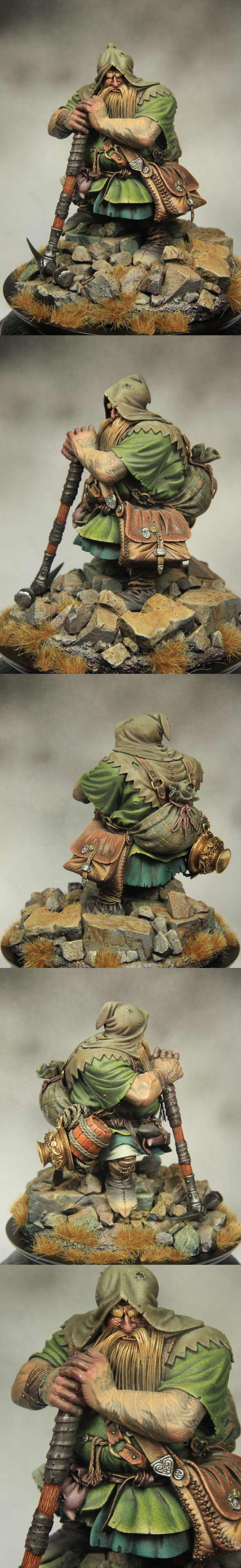 Dwarf tombraider 90mm