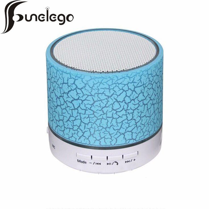 Funelego Mini Bluetooth Speaker With Microphone Audio Box Smartphone Portable Outdoor Heavy Bass Wireless Loudspeaker Subwoofer