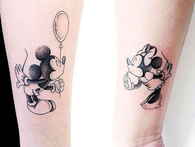 Ideias de tatuagens românticas inspiradas em filmes da Disney | QUEBREI A REGRA…