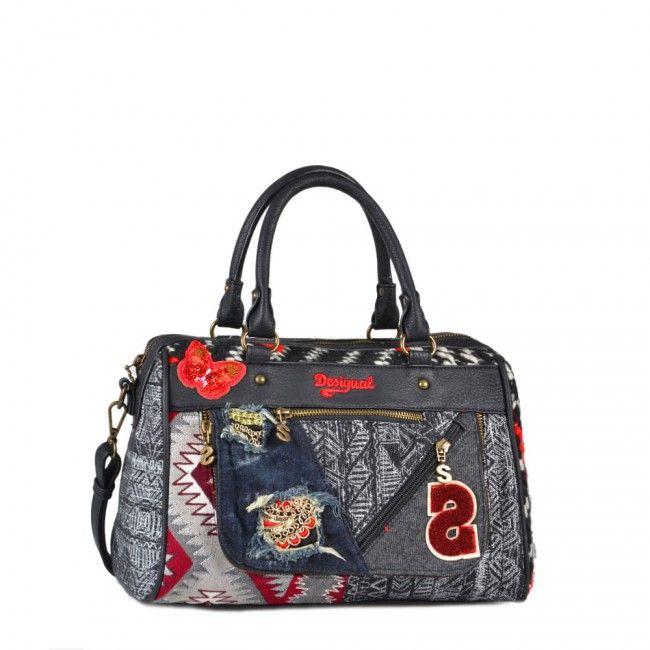 Bauletto Desigual con tracolla Dublin Norway 67X51C3 - Scalia Group #desigual #borse #donna #handbags #color #winder #fallwinter #women