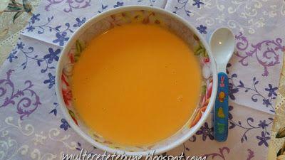 RETETE: Supa crema de morcovi cu lapte (pentru bebelusi)