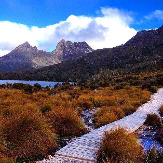 The Overland Track in Tasmania