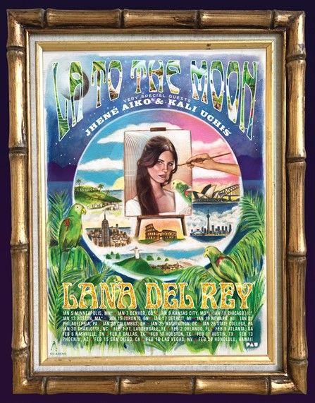 Lana Del Rey announces 2018 tour date