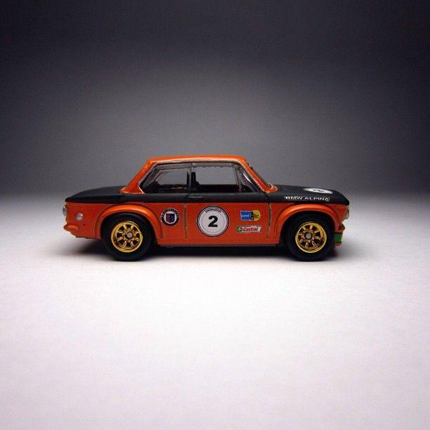 76 Bmw 2002 Modified: Custom Hot Wheels BMW 2002 Alpina