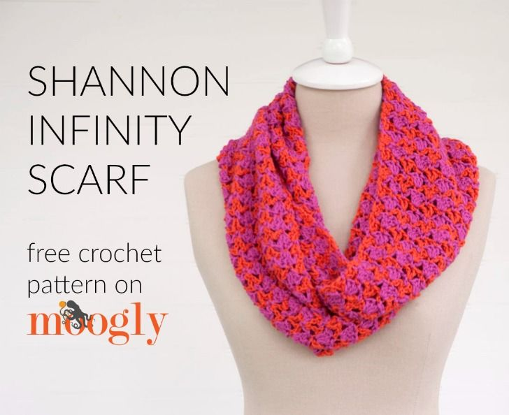 Infinity Loop Scarf Crochet Pattern Free : 17 Best images about Hooked!!! - Winter on Pinterest ...