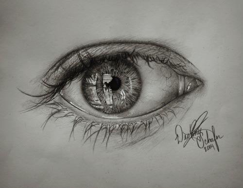 Eye (Pencil Sketch) (2014)
