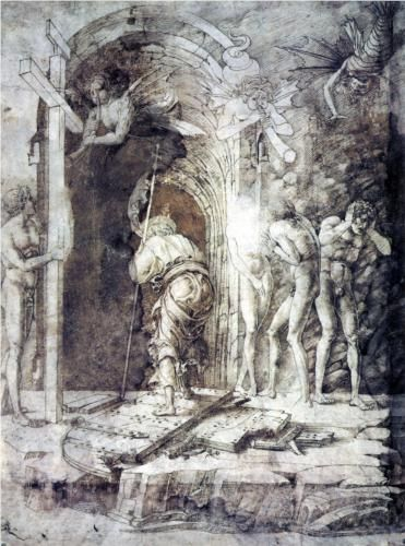 The Descent into Hell - Andrea Mantegna