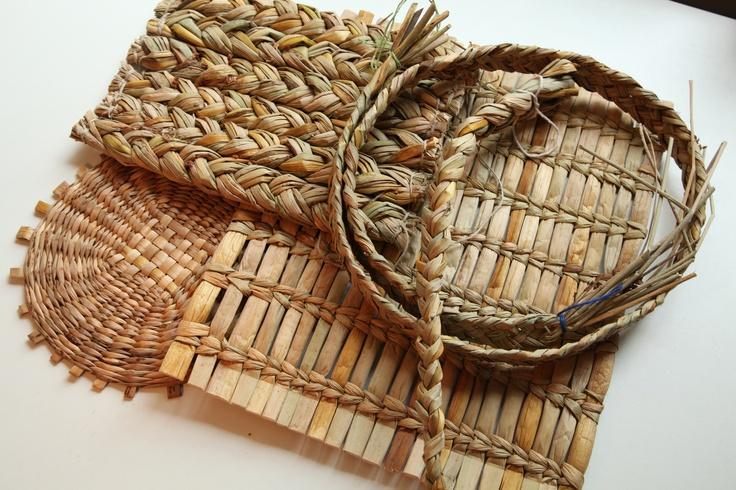 Basket Weaving Fiber : Rush work w e a v bushcraft survival