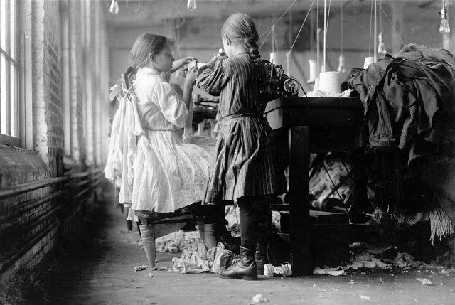 Εργαζόμενα παιδιά στο Τενεσί (1910)
