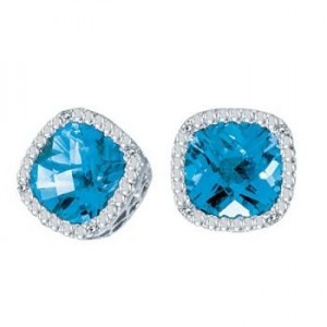 Blue Topaz Jewelry | Center Yourself with Blue Topaz Jewelry - All About Anything...   BEAUTIFUL!!! I'LL TAKE A PAIR