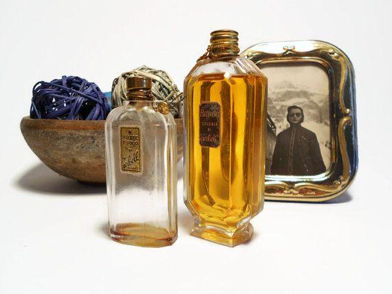 vintage bottiglie profumo  anni 1930 collezione di danycoty
