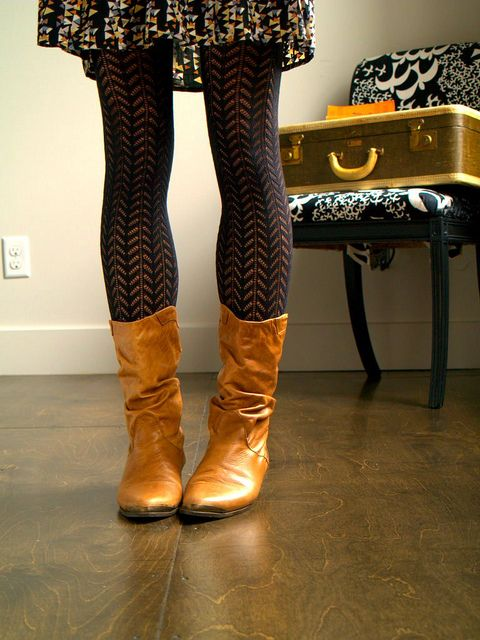 Best 25+ Tights and boots ideas on Pinterest | Teacher style Brown work dresses and Brown ...