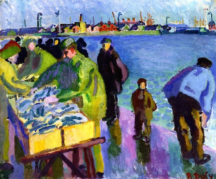 The Fish Market. Raoul Dufy. 1905