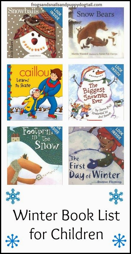 Winter Book List for Children by FSPDT