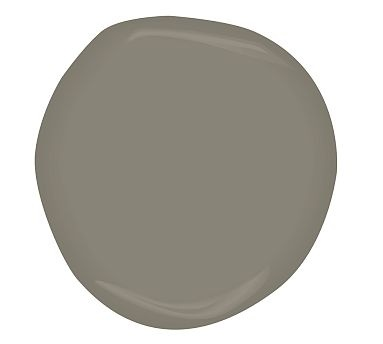 Benjamin Moore Sparrow...have this color in Eden's room and looks great with everything