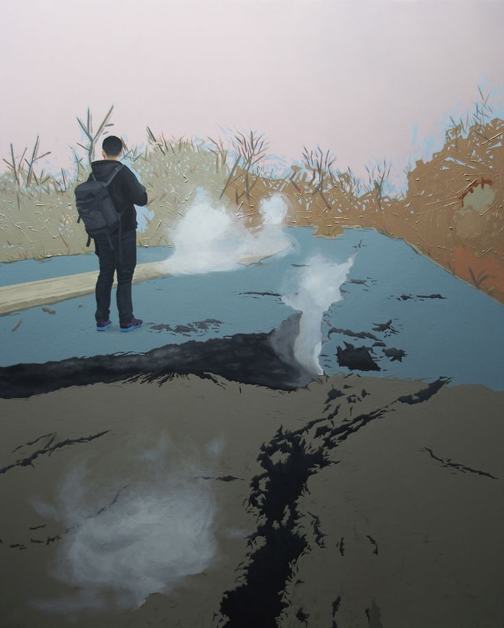 LEE SONG - endline , oil on canvas , 162.1× 130.3cm, 2012