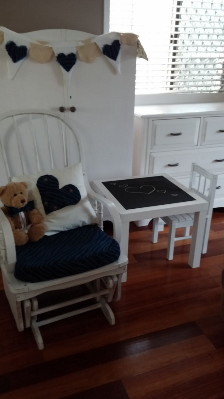 AFTER - Love the end result on this Nursery Suite. Was a big job, but so completely worth the effort. (*Sold to a friend)