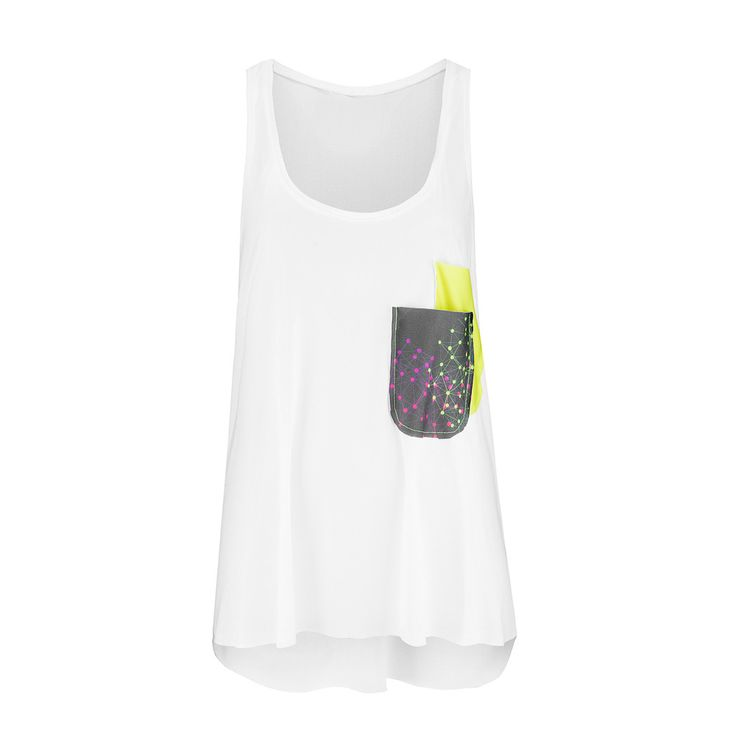 NOLY Tank Top Constellation - Women's fitness and yoga clothing. Great for active gym workouts or aerobic sessions. Romance sport and fashion