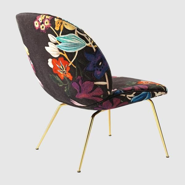 Beetle Lounge Chair   Fully Upholstered