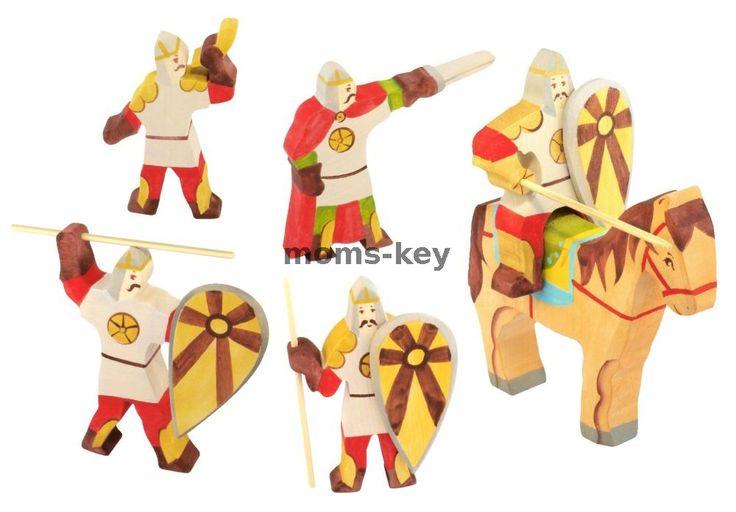 Деревянный набор Славяне (воины) (5 шт)