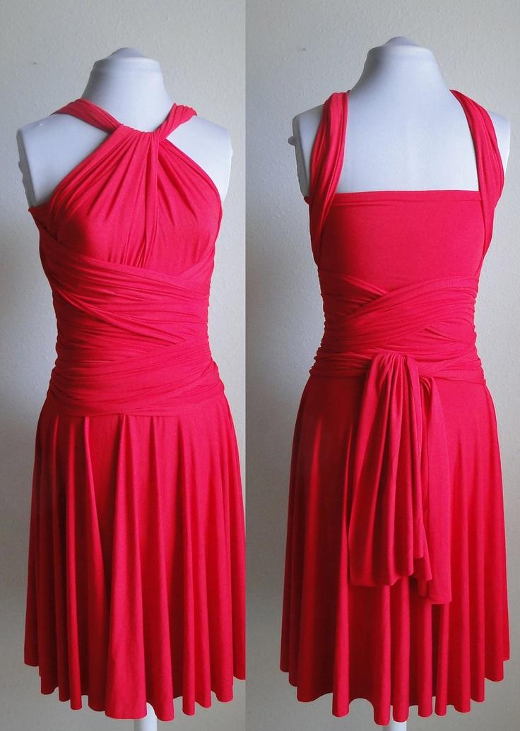 Convertible Infinity Dress Bridesmaid Wrap Dress In