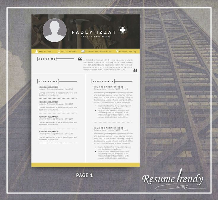 PREMIUM PRO 4! Our resumes are well-crafted and timeless, you can easily adjust them according to your needs and use for years. This resume template will surely satisfy your need while looking for your dreams career.