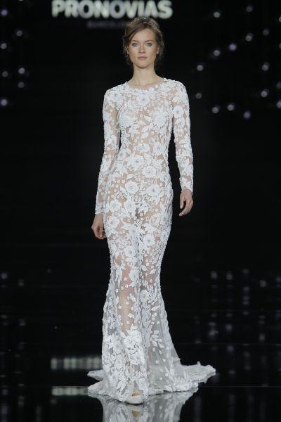 Vestidos de novia corte sirena 2017: 35 propuestas que te enamorarán Image: 24