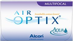 Lentilles de contact mensuelles multifocales AIR OPTIX®
