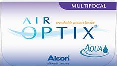 Lentilles de contact mensuelles multifocales AIR OPTIX®