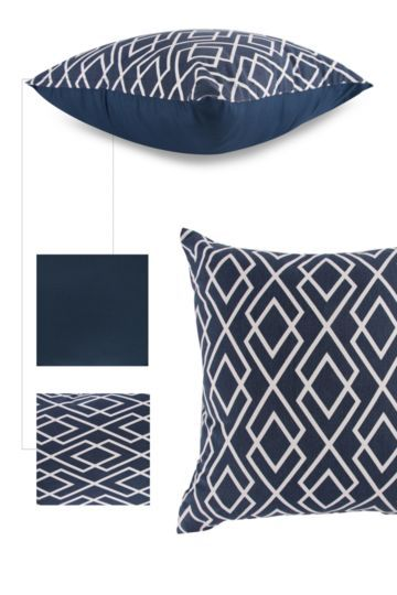 Geometric 45x45cm Scatter Cushion Cover