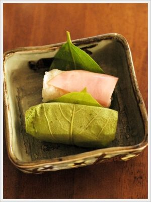 柿の葉レシピ・作り方の人気順|簡単料理の楽天レシピ ハムの柿の葉寿司