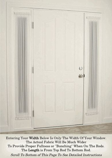 Curtains Ideas curtains for door sidelights : 17 Best ideas about Sidelight Curtains on Pinterest | Front door ...