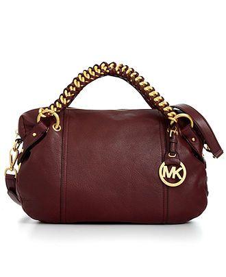 MICHAEL Michael Kors Handbag, Tristan Medium Satchel $298