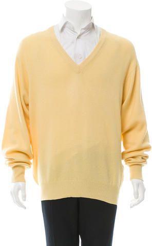 Brioni Cashmere V-Neck Sweater