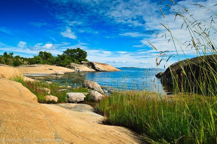 Rödlöga outer archipelago in Stockholm Sweden